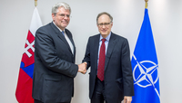 State Secretary for Foreign and European Affairs of the Slovak Republic visits NATO
