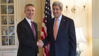 NATO Secretary General meets the US Secretary of State