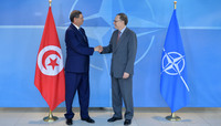 The Prime Minister of Tunisia visits NATO