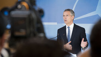 Meetings of the Defence Ministers at NATO Headquarters in Brussels - Doorstep Statement by NATO Secretary General Jens Stoltenberg