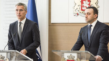 Remarks by NATO Secretary General Jens Stoltenberg at the joint press point with the Prime Minister of Georgia, Irakli Garibashvili