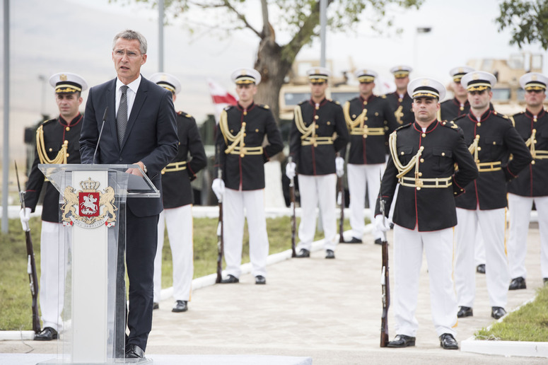 Ceremony for the opening of the Joint Training and Evaluation Centre at the Krtsanisi Military Facility. Remarks by NATO Secretary General Jens Stoltenberg