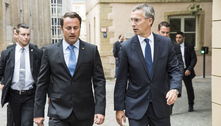 NATO Secretary General praises Luxembourg's role in strengthening shared security