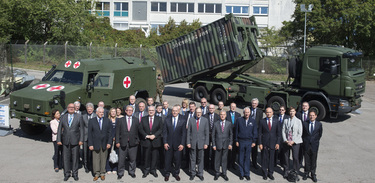 The North Atlantic Council visits the NATO Support and Procurement Agency