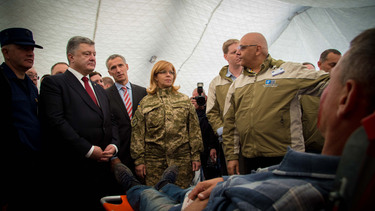 NATO tests telemedicine system in Ukraine