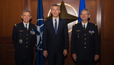 NATO Secretary General, Ambassadors and Military Commanders attend ACT change-of-command ceremony
