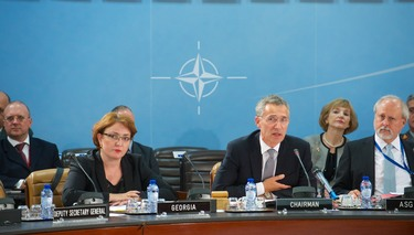 Opening remarks by NATO Secretary General Jens Stoltenberg at the meeting of the NATO-Georgia Commission in Defence Ministers session
