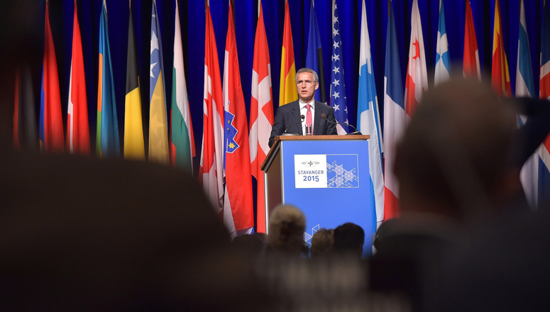 Secretary General highlights NATO's long-term adaptation to new security challenges