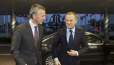President of European Council visits NATO