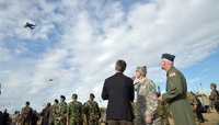 The North Atlantic Council visits NATO Exercise Trident Juncture in Spain
