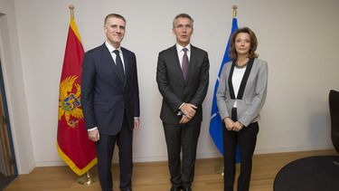 NATO discusses Montenegro's path to membership