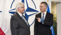 Meetings of the Foreign Ministers at NATO Headquarters in Brussels - Bilateral between NATO Secretary General and the Minister of Foreign Affairs of Poland