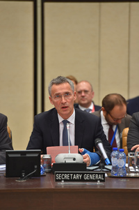 Meetings of the Foreign Ministers at NATO Headquarters in Brussels - Resolute Support Meeting