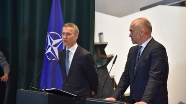 Joint press conference with NATO Secretary General Jens Stoltenberg and the Prime Minister of Albania, Edi Rama