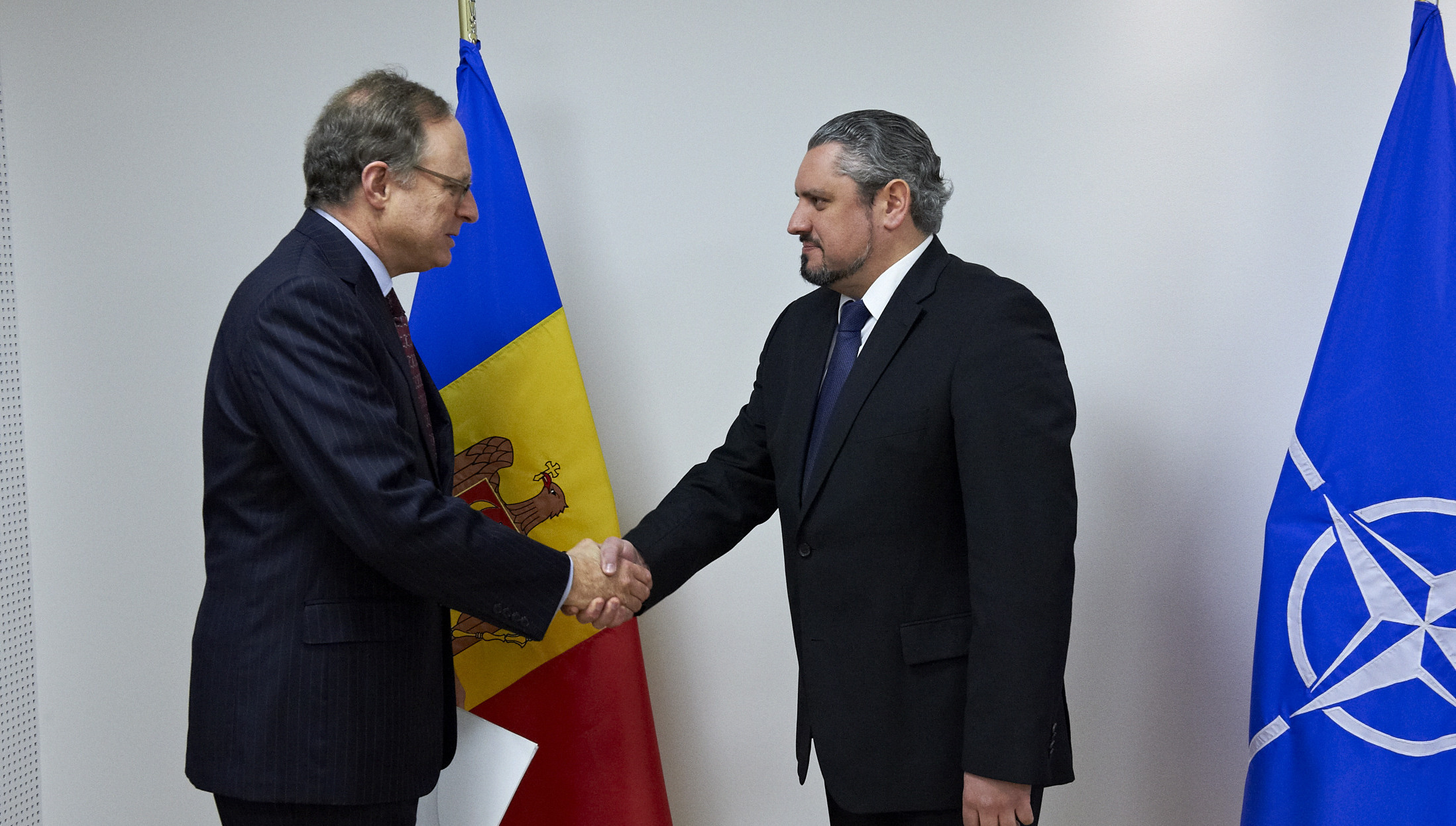 The Minister of Foreign Affairs of Moldova visits NATO