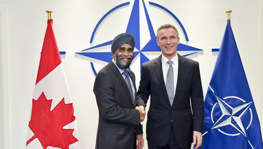 Bilateral meeting between NATO Secretary General and the Minister of Defence of Canada