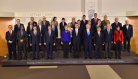 Meetings of the Defence Ministers at NATO Headquarters in Brussels - Official Family Portrait