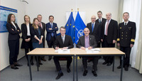 Signing ceremony of the Technical Arrangement on Cyber Defence between the NATO Computer Incident Response Capability (NCIRC) and the Computer Emergency Response Team (CERT-EU) for the EU institutions