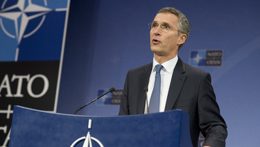 Press conference by NATO Secretary General Jens Stoltenberg following the meeting of the NATO-Georgia Commission at the level of Defence Ministers
