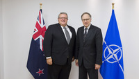 Meetings of the Defence Ministers at NATO Headquarters in Brussels - Bilateral meeting between Deputy NATO Secretary General and the Minister of Defence of New Zealand