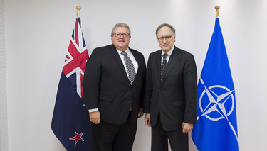 Bilateral meeting with the Minister of Defence of New Zealand