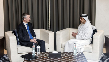NATO and UAE determined to enhance cooperation in addressing common challenges