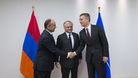 Ministers of Foreign Affairs and of Defence of Armenia visit NATO