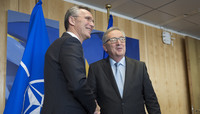 NATO Secretary General meets the President of the European Commission