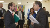United Nations High Commissioner for Human Rights visits NATO