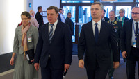 The Prime Minister of Latvia visits NATO