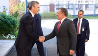 The King of Jordan visits NATO
