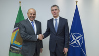 Visit to NATO by the Secretary General of the Gulf Cooperation Council