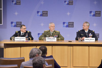 Meetings of the Chiefs of Defence at NATO Headquarters in Brussels - Joint press Conference with the Chairman of the NATO Military Committee, Supreme Allied Commander Europe and Supreme Allied Commmader Transformation