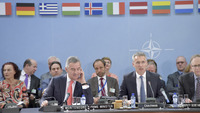 Meeting of the Foreign Ministers at NATO Headquarters in Brussels - North Atlantic Council meeting with Montenegro