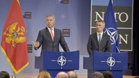 Meeting of the Foreign Ministers at NATO Headquarters in Brussels - Joint Press Point NATO Secretary General and Prime Minister of Montenegro
