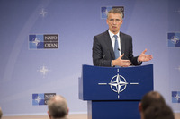 Meeting of the Foreign Ministers at NATO Headquarters in Brussels - Press Conference NATO Secretary General