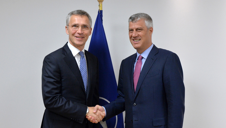 Image result for Secretary General Jens Stoltenberg KOSOVO