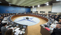 Meetings of the NATO Defence Ministers at NATO Headquarters in Brussels - North Atlantic Council Meeting