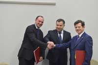 Meetings of the NATO Defence Ministers at NATO Headquarters in Brussels - Signature Ceremony between Ukraine and NSPA