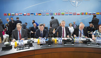 Meetings of the NATO Defence Ministers at NATO Headquarters in Brussels - NATO-Ukraine Commission
