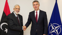 The Minister of Foreign Affairs of Libya visits NATO