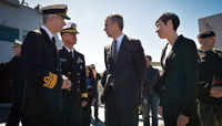 NATO Secretary General visits Exercise Dynamic Mongoose