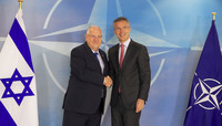 The President of Israel visits NATO