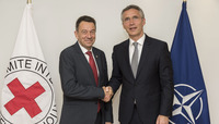 President of the International Committee of the Red Cross visits NATO