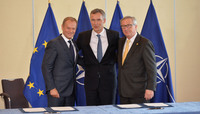 EU Signing Ceremony of the EU-NATO Joint Declaration
