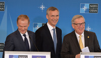 Joint NATO-EU press statements - NATO Summit Warsaw