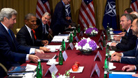Bilateral meeting between the NATO Secretary General and the US President - NATO Summit Warsaw