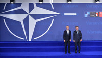 Official greeting by the NATO Secretary General and the President of Poland