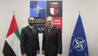 Bilateral meeting between the NATO Deputy Secretary General and the Minister of State for Defence Affairs of the United Arab Emirates - NATO Summit Warsaw