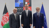 NATO Secretary General meets with the President and the Chief Executive of Afghanistan  - NATO Summit Warsaw